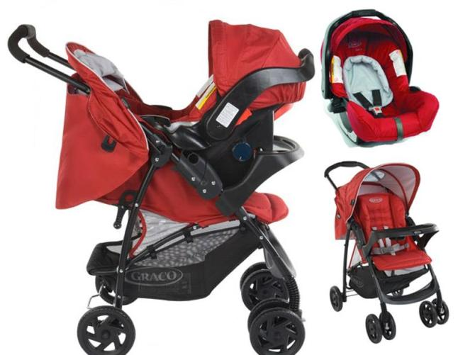 Graco Mirage Travel System | Baby Stroller | Baby Car Seat